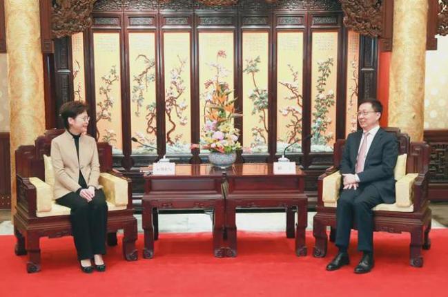 对香港问题,政治局常委、军委副主席及多位省级党委书记接连发声