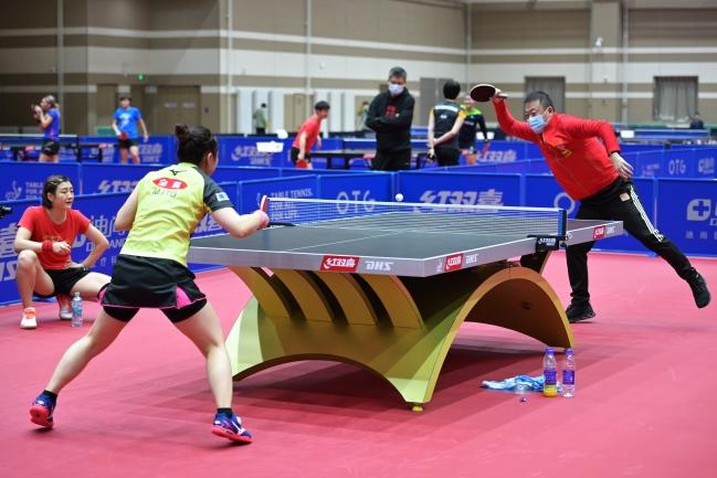 东奥乒乓球赛不许手触球台或吹球,刘国梁:没想到,但准备好了