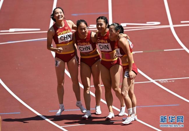 东京奥运会|今日中国军团那些精彩瞬间