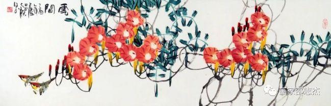 豪放洒脱、劲健补拙、自成一家——评著名画家邵志杰的大写意绘画