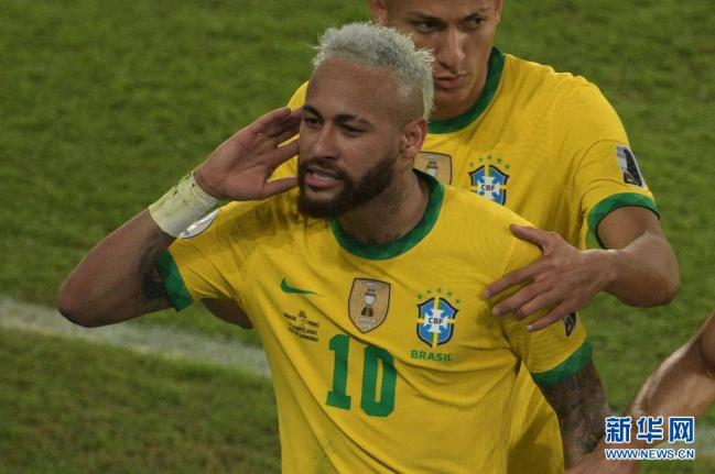 美洲杯:巴西胜秘鲁