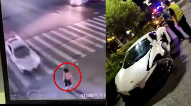无牌跑车超速行驶,女子在斑马线上瞬间被撞飞后身亡,警方通报