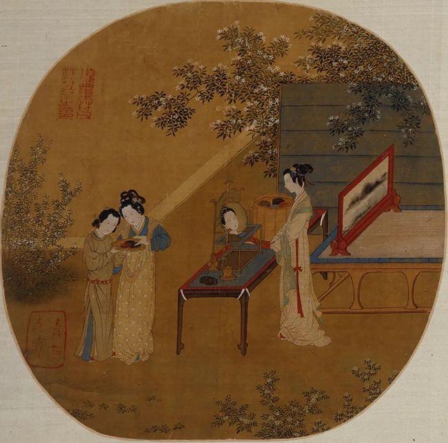 明 仇英《临宋人画》上海博物馆藏