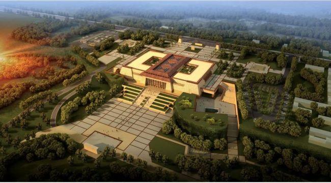 陶寺遗址博物馆规划效果图