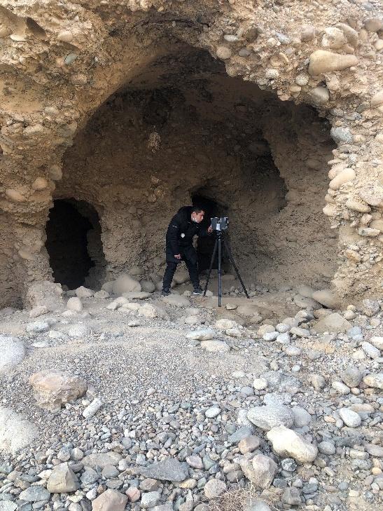 洞窟三维数字化扫描 拍照 测量形制