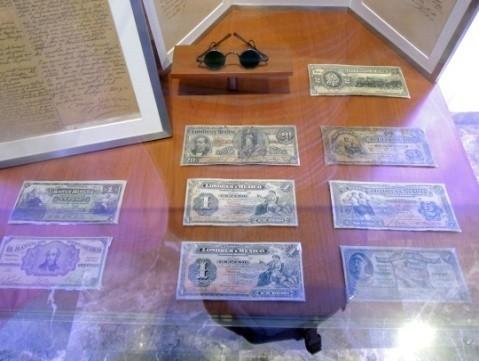 早期发行的纸币