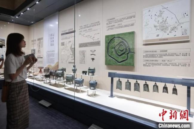 扬州中国大运河博物馆,展陈布置接近尾声。 泱波 摄
