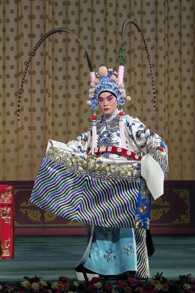 金喜全在京剧《临江会》中的周瑜扮相