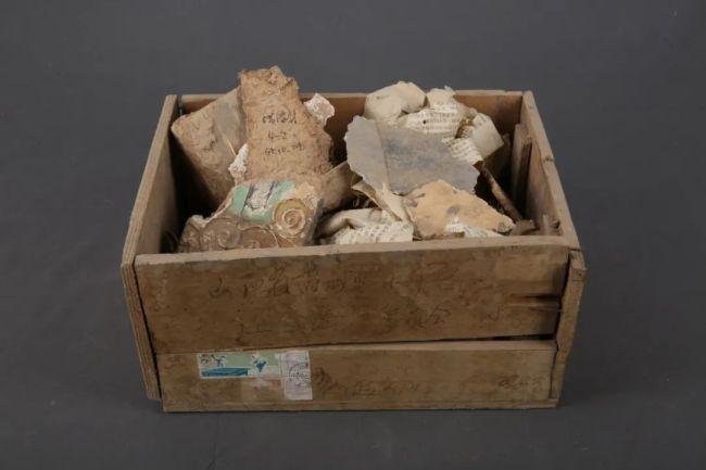 保护画面的实验品6块(带盒子)  上世纪60年代