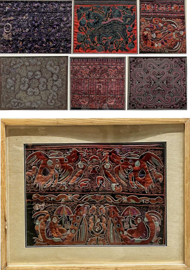 苗绣(入选第一批国家级非物质文化遗产名录)