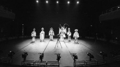 360度自由视角+VR拍摄广州粤剧院《相遇岭南》     (广州大剧院供图)