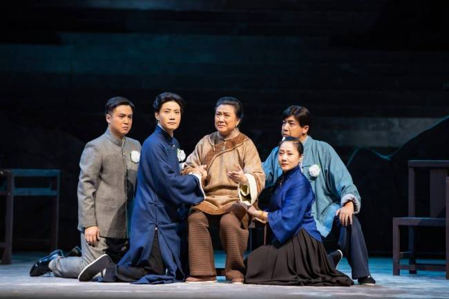 现代京剧《风华正茂》:青春激荡