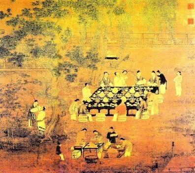 宋·赵佶《文会图》(局部)