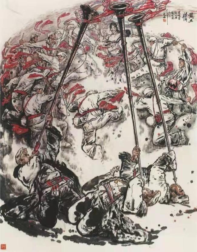 刘文西《黄土情》235×190cm 1989年