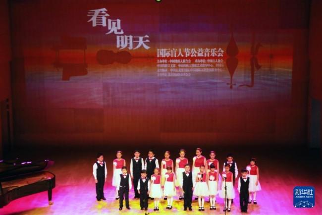 """""""看见明天""""国际盲人节公益音乐会在京"""