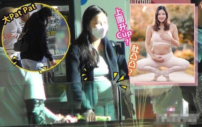 黎明前女友乐基儿疑怀二胎 腹部隆起身体发福明显