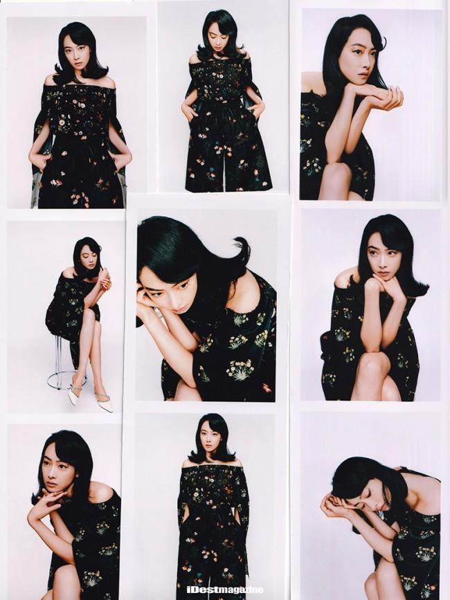 宋茜化身复古女郎登杂志封面 别致眼妆诠释多面摩登魅力