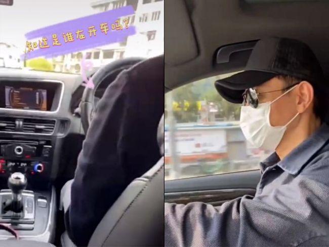 刘德华开车自驾游 车内低调朴素看不出是天王座驾