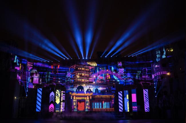 《奇幻东方》吾想创意团队打造光影夜游新视觉