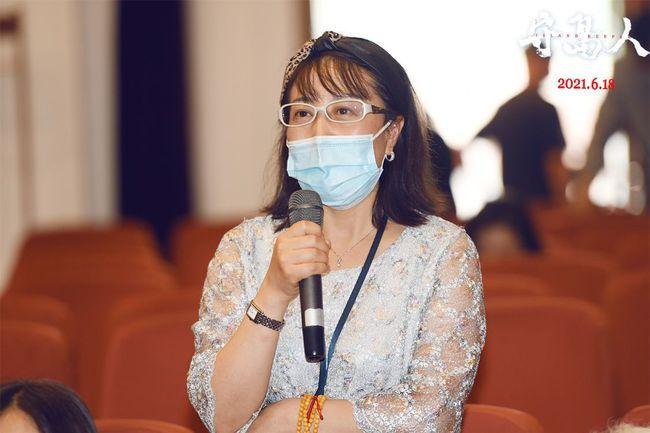 《守岛人》新华社专场放映 导演陈力讲述温暖故事