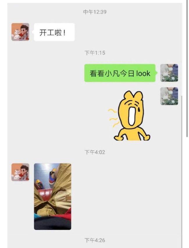 女团成员晒与吴亦凡聊天记录 吴亦凡:我喜欢乖的