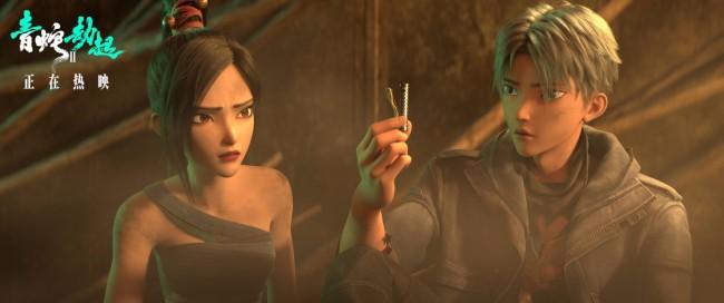 """《白蛇2:青蛇劫起》双向奔赴视频 """"青白""""终相认"""