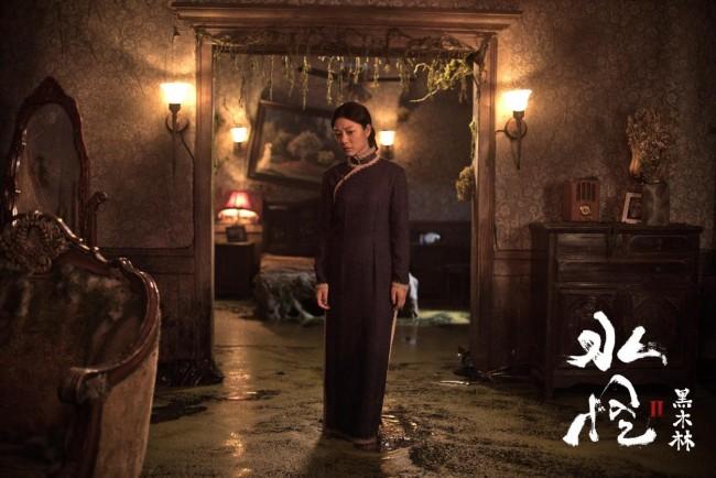 《水怪2:黑木林》定档8月20日 水猴子复仇索命 王真儿勇闯黑木林破身世之谜