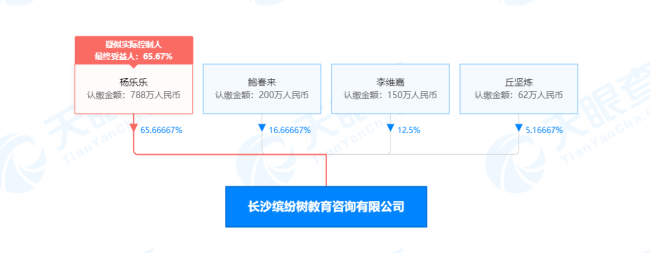 杨乐乐与李维嘉持股教育公司进行清算