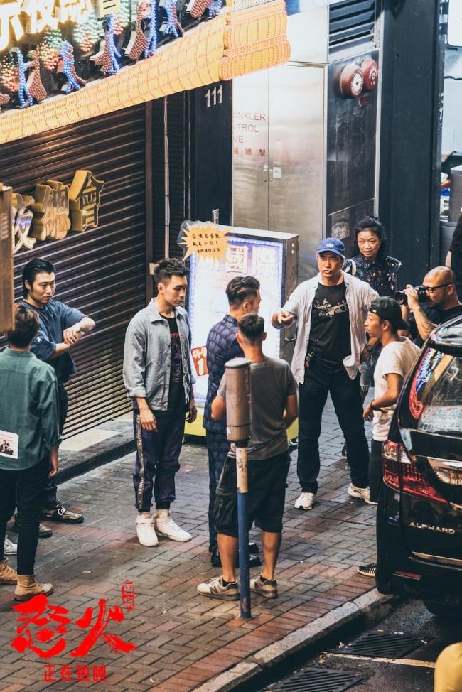 《怒火·重案》破11亿甄子丹谢霆锋飙车搏斗太刺激