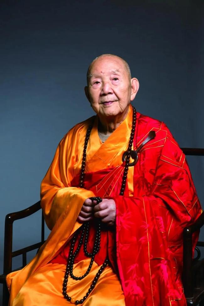 百岁高僧、中国佛教协会咨议委员会主席新成长老安详示寂