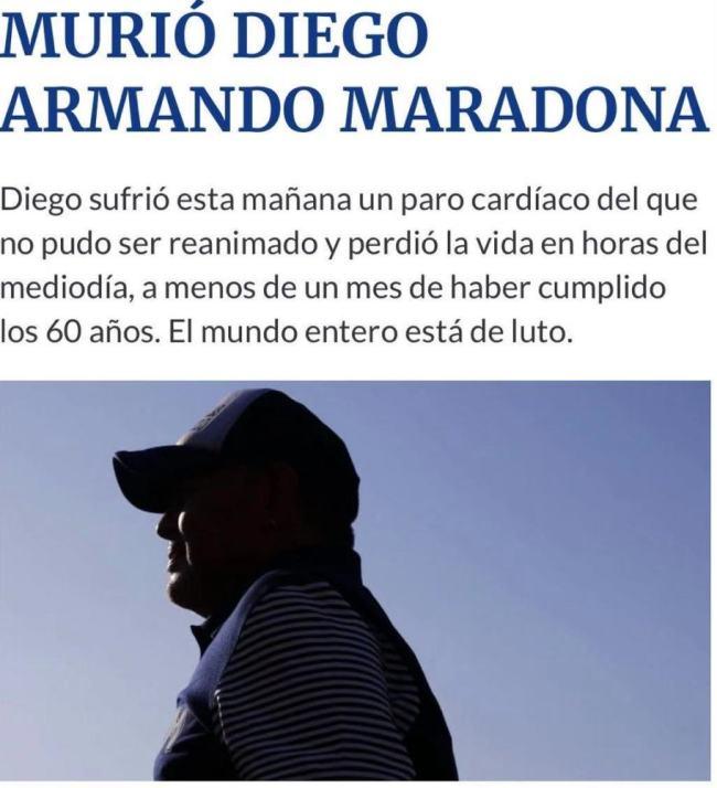 马拉多纳得了什么病去世的?马拉多纳去世原因,突发心脏病是什么原因引起的