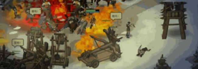 《部落与弯刀》新版本重做攻城+小姨子现在能开炮车了
