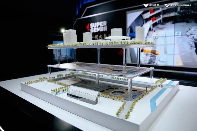 超竞教育打造电竞产业园、电竞教育课堂外场展区