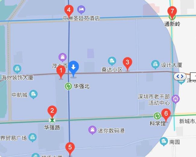 2021年深圳华强北博物馆新春生肖艺术联展交通指南