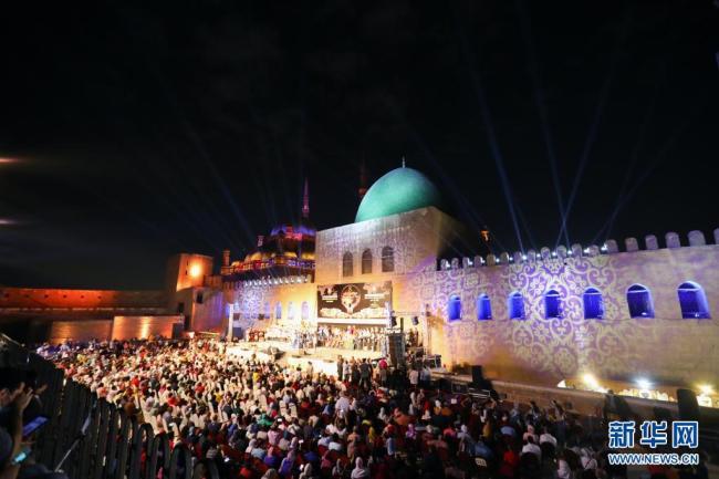 第八届埃及国际鼓乐与传统艺术节在开罗举行 展示各国文化和鼓乐艺术