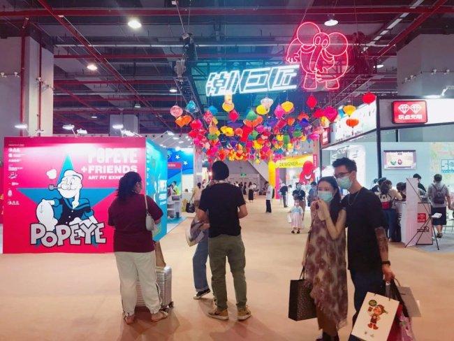 世界潮玩大赏:2021广州潮巨匠潮流艺术玩具展开幕!