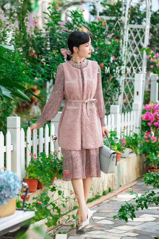 金秋出游丨高端女装品牌简爱格妮斯为你解锁时髦穿搭格调
