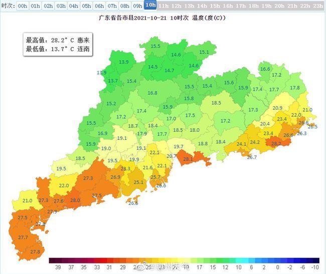 惠州较强冷空气杀到 影响全市平均气温预计下降5℃至8℃