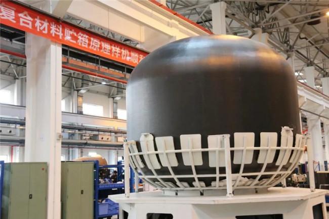 我国首个3.35米直径复合材料贮箱原理样机诞生!
