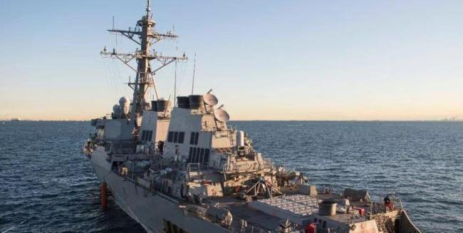 美舰穿航台湾海峡 东部战区:随时应对一切威胁挑衅