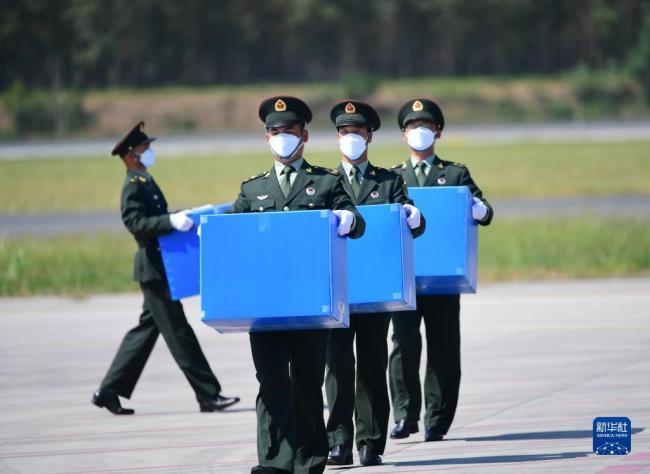 """特写:归国在韩志愿军烈士遗物中的""""国""""与""""家"""""""