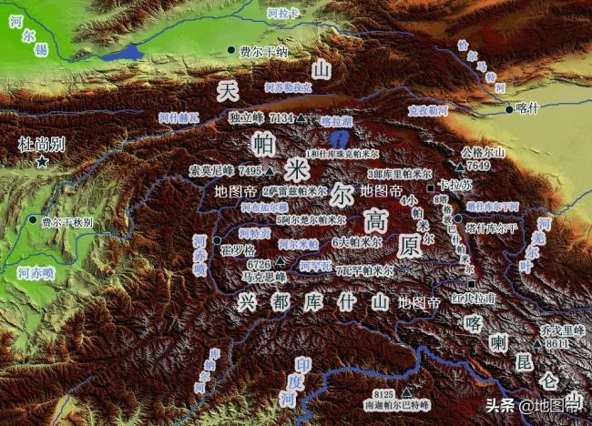 清朝曾控制整个帕米尔高原吗?