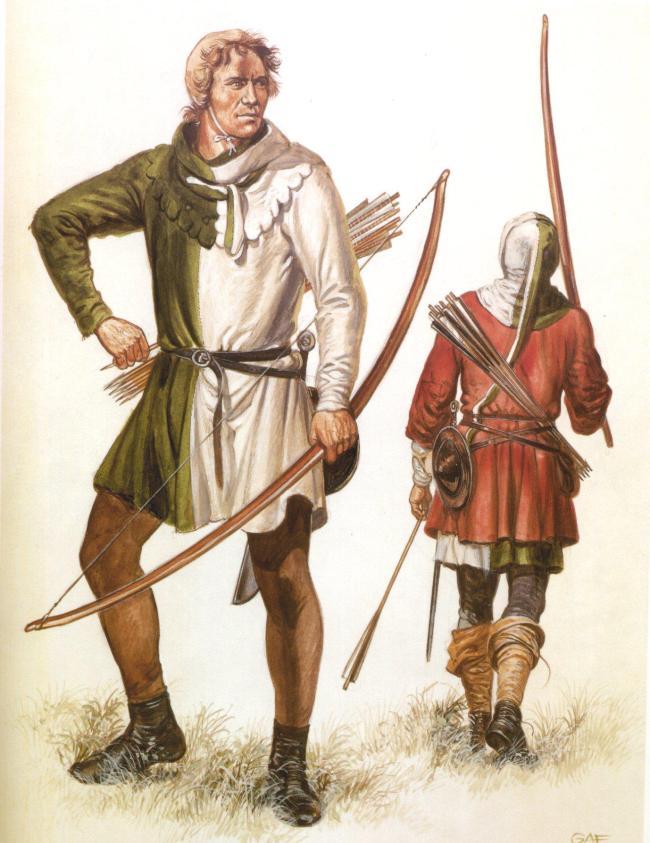 杀贵族杀骑士杀出平等思潮!百年战争中的长弓才是最给力的武器