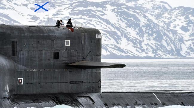 俄北极地区进行大规模军演 出动大型军舰及核潜艇