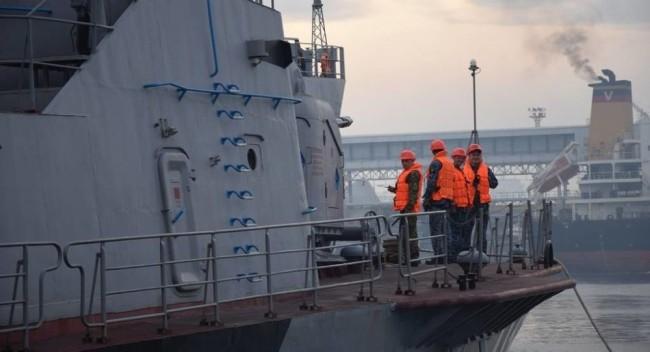 乌克兰海军舰艇资料图
