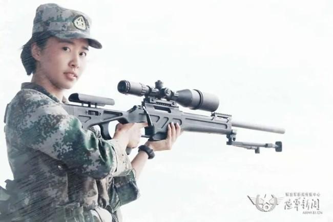 """巾帼不让须眉,这名女兵狙击手斩获""""榜眼""""!"""