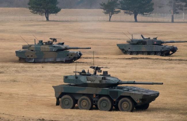 """日本打算补上跟中国的""""坦克对决""""?还是别做梦了"""