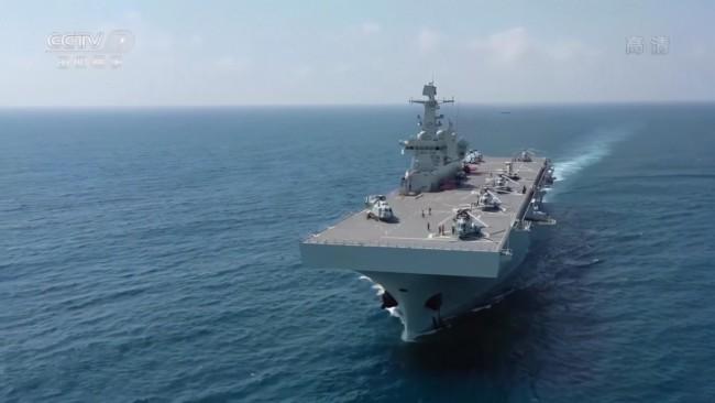 为什么说075型两栖攻击舰将是小型航母平台?