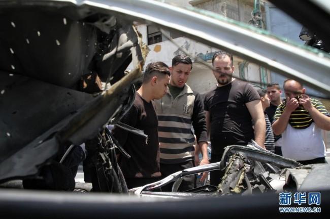 以色列对加沙地带的轰炸进入第二周