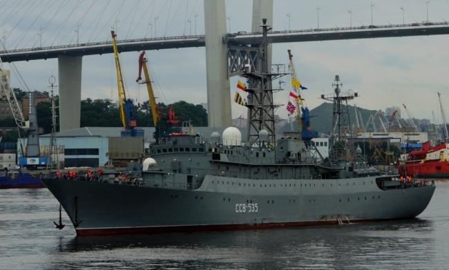 美媒:俄军侦察船在夏威夷徘徊,曾贴近导弹靶场
